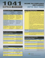 1041 Express Answers - CCH Tax Law