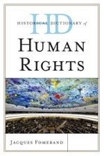 Historical Dictionary of Human Rights - Jacques Fomerand