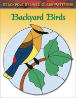 Backyard Birds : Stained Glass Patterns - Sandy Allison