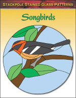 Songbirds : Stained Glass Patterns - Sandy Allison