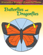 Butterflies and Dragonflies : Stained Glass Patterns - Sandy Allison