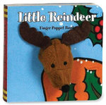 Little Reindeer : Finger Puppet Brd Bks - Chronicle Books