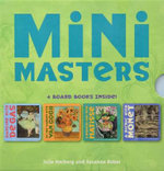 Mini Masters : 4 Board Books Inside! Degas, Matisse, Monet, Van Gogh - Julie Merberg