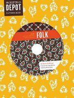 Reprodepot Pattern Book : Folk - 225 Vintage-Inspired Textile Designs - Djerba Goldfinger