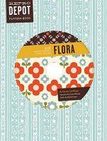 Reprodepot Pattern Book : Flora - 225 Vintage-Inspired Textile Designs - Djerba Goldfinger