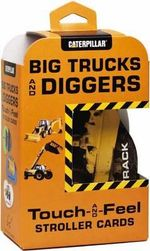 Big Trucks and Diggers Touch-and-Feel Stroller Cards - Caterpillar