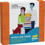 MoMA Modern Play Family :  Create One-of-a-Kind Characters with over 150 Clothing, Hairstyle, and Accessory Options! - The Museum of Modern Art