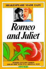 Romeo and Juliet (Shakespeare Made Easy) : Shakespeare Made Easy (Paperback) - Alan Durband