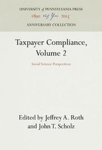 Taxpayer Compliance: v. 2 : Social Science Perspectives