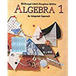 McDougal Littell High School Math : Student Edition Algebra 1 1995