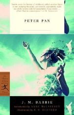 Peter Pan : Modern Library Classics (Paperback) - Sir J. M. Barrie