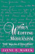 Women Editing Modernism :