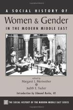 A Social History of Women and the Family in the Middle East : Social History of the Modern Middle East - Margaret Lee Meriwether