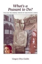 What's a Peasant to Do : Village Becoming Town in Southern China - Gregory Eliyu Guldin