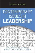 Contemporary Issues in Leadership - William E. Rosenbach