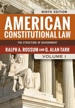 American Constitutional Law : V. 1 - Ralph A. Rossum