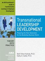 Transnational Leadership Development : An HR Practioner's Guide to Transformative Learning in Employee Development - Appendix 2 - Beth Ph. D. Fisher-Yoshida