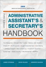 Administrative Assistant's and Secretary's Handbook - James Stroman