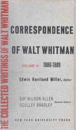 Correspondence : 1890-92 v.5 - Walter Whitman