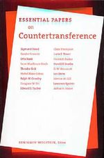 Essential Papers on Counter Transference
