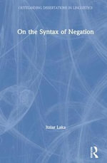 On the Syntax of Negation - Itziar Laka