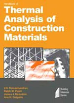 Handbook of Thermal Analysis of Construction Materials :  Principles, Techniques and Applications - V. S. Ramachandran