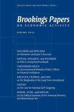 Brookings Papers on Economic Activity : Spring 2014
