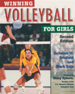 Winning Volleyball for Girls : Second Edition - Deborah Crisfield