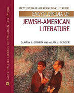 Encyclopedia of Jewish-American Literature : Facts on File Library of American Literature  - Gloria L. Cronin