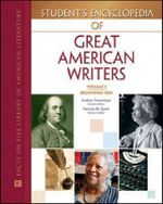 Student's Encyclopedia of Great American Writers : Great American Writers Ser. - Patricia Gantt