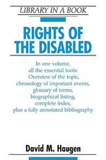 Rights of the Disabled - David M. Haugen
