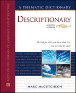 Descriptionary: A Thematic Dictionary, Fourth Edition : Facts on File Library of Language and Literature - Marc McCutcheon