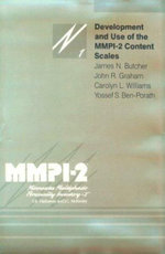Development and Use of the M.M.P.I.-2 Content Scale - James N. Butcher