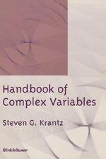 Handbook of Complex Variables - Steven G. Krantz