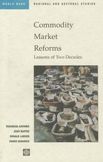 Commodity Market Reforms : Lessons of Two Decades :  A History of Securities Markets in the United Sta... - World Bank