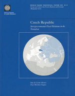 Czech Republic : Intergovernmental Fiscal Relations in the Transition :  Fundamentals: The Case of Triangular Libration Po... - Jorge Martinez-Vazquez
