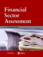 Financial Sector Assessment : A Handbook - World Bank Group