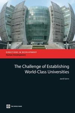The Challenge of Establishing World-Class Universities - Jamil Salmi