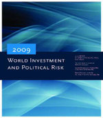 World Investment and Political Risk 2009 - World Bank Group