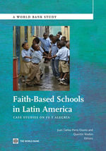 Faith-Based Schools in Latin America : Case Studies on Fe Y Alegria