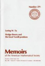 Hodge Theory and the Local Torelli Problem - Loring W. Tu