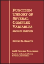 Function Theory of Several Complex Variables : AMS Chelsea Publishing - Steven G. Krantz