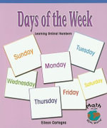 Days of the Week : Learning Ordinal Numbers - Jane Snyder