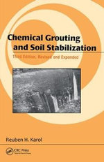 Chemical Grouting and Soil Stabilization : The Space Debris Crisis - Reuben H. Karol