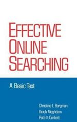 Effective Online Searching : A Basic Text - Christine L. Borgman