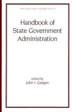 Handbook of State Government Administration