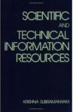 Scientific and Technical Information Resources - K. Subramanyam