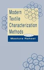 Modern Textile Characterization Methods : A Computer-Oriented Approach