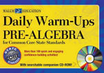 Daily Warm-Ups : Pre-Algebra Common Core Standards - Betsy Berry