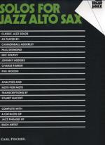 Solos for Jazz Alto Sax